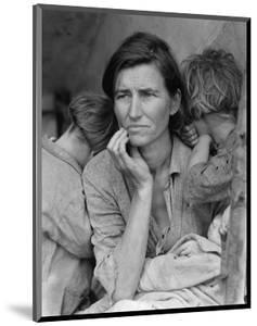 Destitute Pea Pickers by Dorothea Lange
