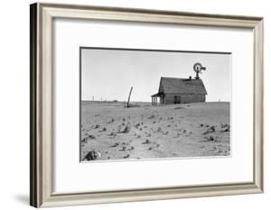 Dust Bowl Farm by Dorothea Lange