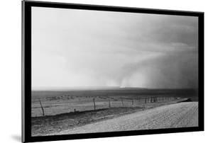 Dust Storm near Mills, New Mexico by Dorothea Lange