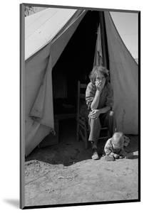 Eighteen Year-Old Mother by Dorothea Lange