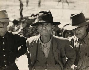 Ex-Tenant Farmer on Relief Grant by Dorothea Lange
