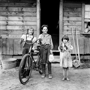 Farm Children, 1939 by Dorothea Lange