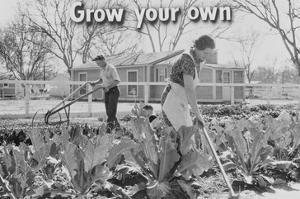 Homegrown Food Is Homegrown Wealth. by Dorothea Lange