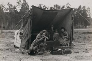 Hungry Mother and Children by Dorothea Lange