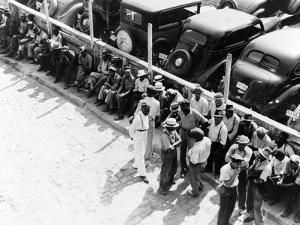 Memphis: Unemployed, 1938 by Dorothea Lange