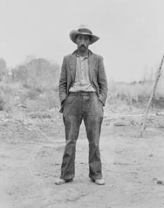 Mexican Field Worker, Father of Six. by Dorothea Lange