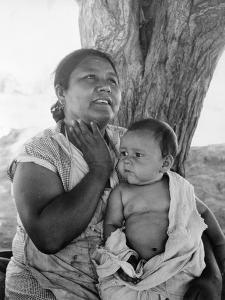 Mexican mother in California, 1935 by Dorothea Lange