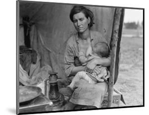 Migrant Agricultural Worker's Family by Dorothea Lange