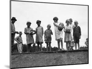 Migrant Families, 1936 by Dorothea Lange