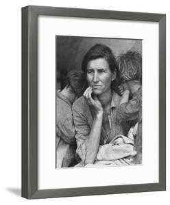 Migrant Mother, Nipomo, California by Dorothea Lange