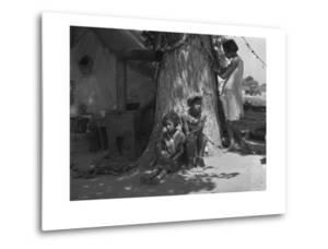 Motherless Migrant Children by Dorothea Lange