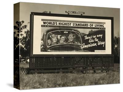 National Association of Manufacturers Billboard Campaigns Against New Deal Policies, 1937