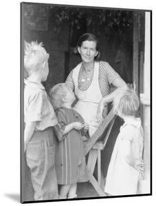 Oklahoma squatter's family, Riverside County, California, 1935 by Dorothea Lange
