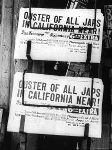 Ouster of All Japs by Dorothea Lange