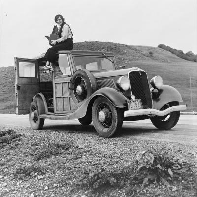 Dorothea Lange, Resettlement Administration Photographer, 1936--Photographic Print