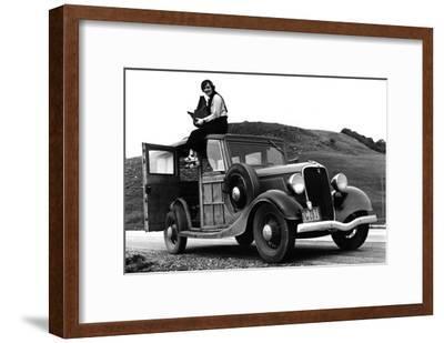 Dorothea Lange, Resettlement Administration Photographer-Dorothea Lange-Framed Photo