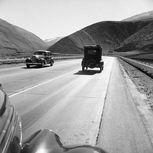 Rural Highway, 1939 by Dorothea Lange