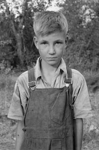Squatter Boy by Dorothea Lange