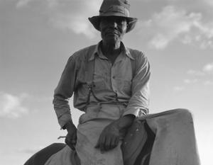 The Riding Boss by Dorothea Lange