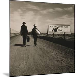 Toward Los Angeles, California, 1937 by Dorothea Lange