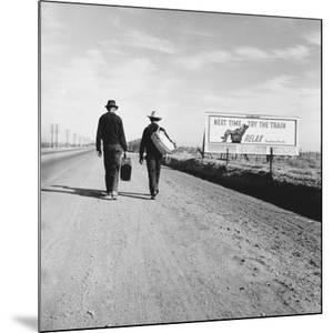 Toward Los Angeles, California by Dorothea Lange