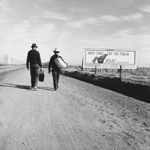 Toward Los Angeles, California by Dorothea Lange