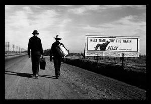 Toward Los Angeles by Dorothea Lange