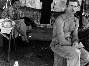 Unemployed Lumber Worker by Dorothea Lange