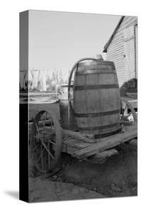 Water Barrel by Dorothea Lange