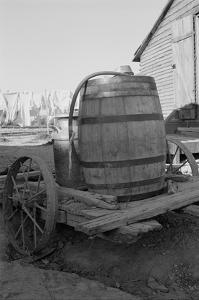 Water Barrel by Dorothea Lange