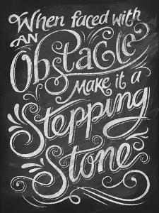 Chalk Stepping Stone by Dorothea Taylor