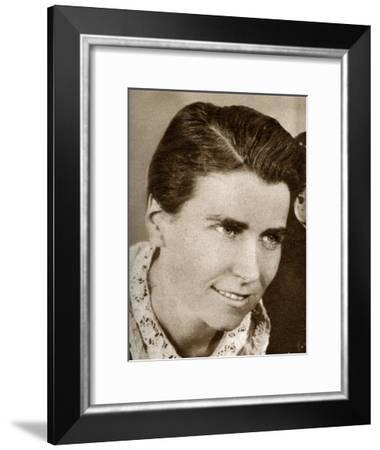 Dorothy Arzner, American Film Director, 1933--Framed Giclee Print