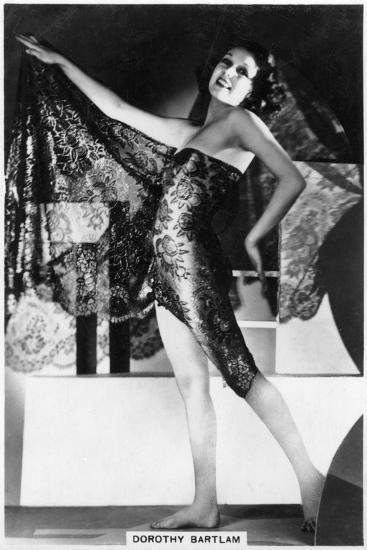 Dorothy Bartlam, British Actress, 1938--Giclee Print