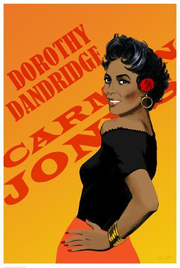 Dorothy Dandridge-Clifford Faust-Art Print