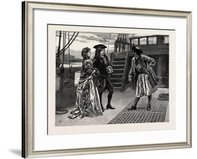 Dorothy Forster: He Bowed and Tried to Smile and to Look Loyal and Faithful--Framed Giclee Print