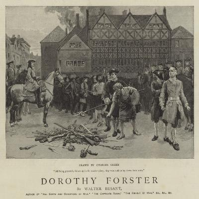 Dorothy Forster-Charles Green-Giclee Print