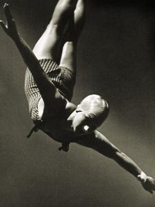 Dorothy Poynton at the Berlin Olympic Games, 1936