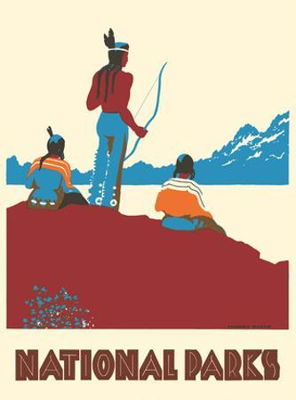 National Parks - Native Americans by Dorothy Waugh