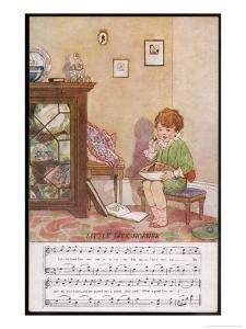 Little Jack Horner Sits in a Corner Eating His Way Through a Very Large Christmas Pie by Dorothy Wheeler
