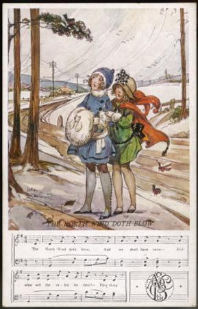 The North Wind Doth Blow and We Shall Have Snow by Dorothy Wheeler