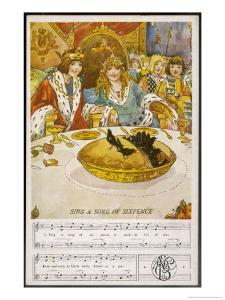 When the Pie was Opened the Birds Began to Sing by Dorothy Wheeler