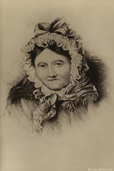 Dorothy Wordsworth--Giclee Print