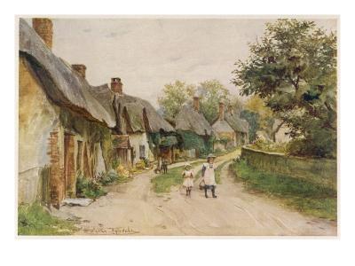 Dorset Scenery--Giclee Print