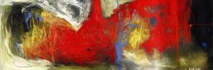 Abstract Painting by Dorte Kalhoej