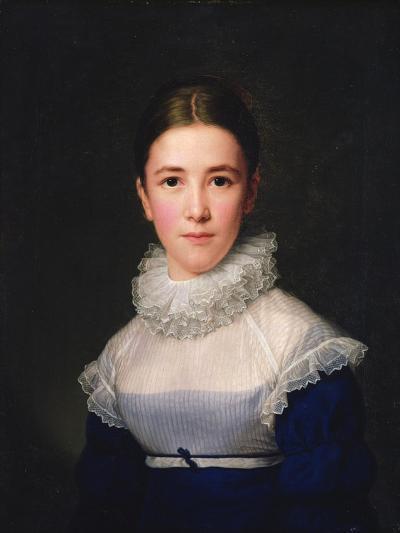 Dortrait of Lina Groger, the Foster Daughter of the Artist, 1815-Friedrich Carl Groger-Giclee Print