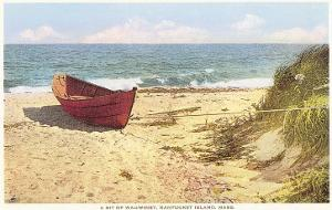 Dory on Beach, Wauwinet, Nantucket, Massachusetts