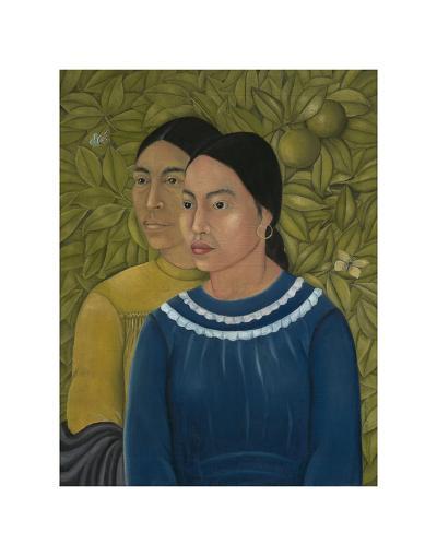 Dos Mujeres (Salvadora y Herminia), 1928-Frida Kahlo-Art Print