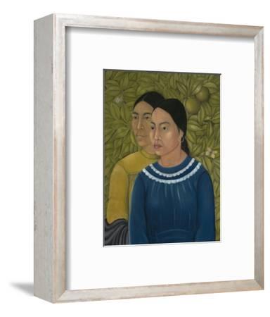 Dos Mujeres (Salvadora y Herminia), 1928-Frida Kahlo-Framed Art Print