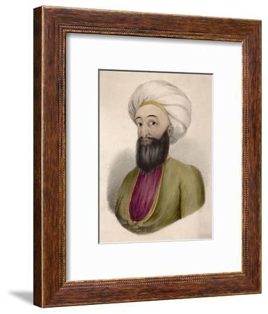 Dost Mohammad Khan Ruler of Afghanistan--Framed Giclee Print