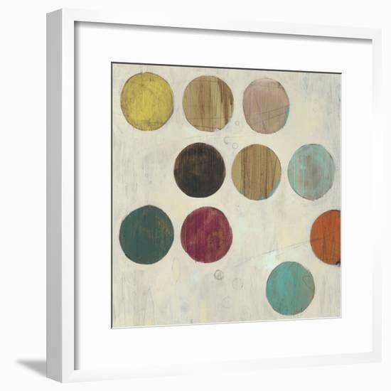 Dot Matrix IV-June Vess-Framed Premium Giclee Print